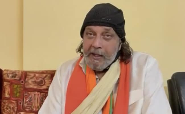 """Call Me Selfish, But..."": Actor Mithun Chakraborty On Joining BJP"