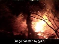 Fire Breaks Out At Karnataka's Bellandur Lake