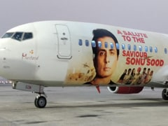 """""""Remember Coming To Mumbai On An Unreserved Ticket"""": Sonu Sood's Emotional Tweet As Airline Honours Actor With Special Plane"""