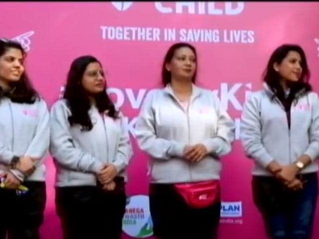 Video : Women's Day 2021: 7 Mothers On Bikes Spread Awareness About Malnutrition