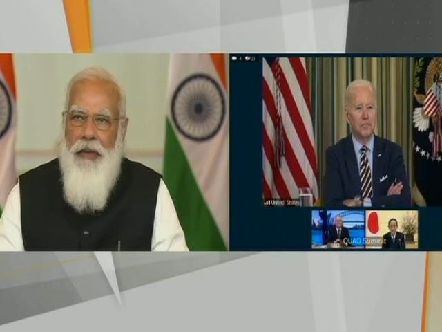"Video : ""United By Democratic Values"", Says PM Modi At Quad Summit"