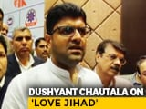 "Video : ""Don't Agree With 'Love Jihad' Term"": Ally As BJP In Haryana Plans Law"