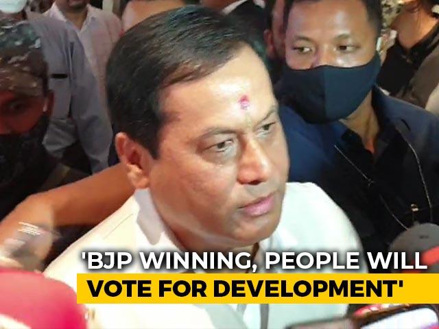 Video : BJP Is Winning Assam, People Saw Development, Says Sarbananda Sonowal