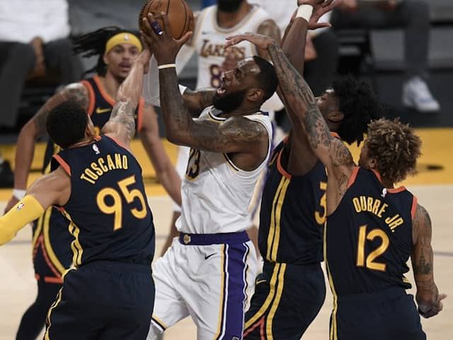 NBA: LeBron Scores 19 points To Help Lakers Defeat Warriors