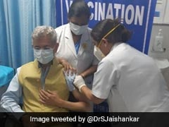 """Got My Jab Of Covaxin, Felt Secure, Will Travel Safely"": S Jaishankar"