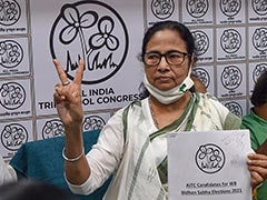 "Mamata Banerjee's Big 1-Seat (Nandigram) Gamble, Says ""Smiley Election"""