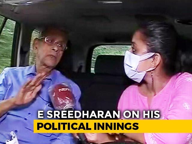 "Video : ""Best Time For BJP To Capture Power"":  'Metro Man' E Sreedharan To NDTV"