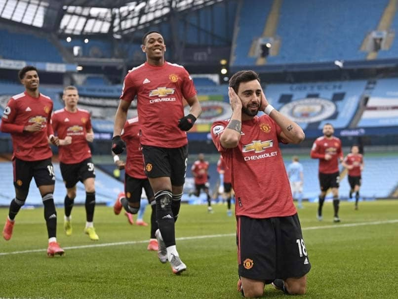 Premier League: Manchester United Shatter Manchester Citys Winning Run
