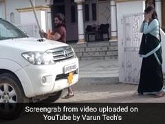 Bhojpuri Video: खेसारी लाल ने गुस्से में आम्रपाली दुबे की भी नहीं सुनी, चकनाचूर कर दिया कार का शीशा