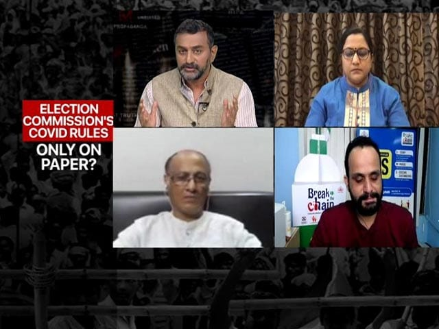 Video : Despite Surging Virus, Politicians On Rally Spree