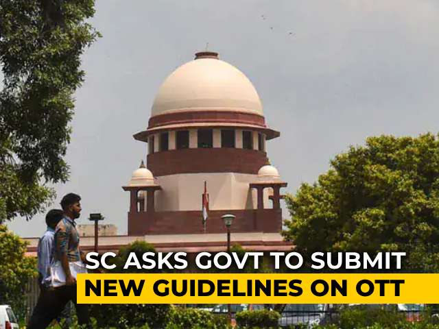 Video : They Show Porn, Too, Says Supreme Court, In Favour Of OTT Control