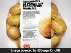 Burger King France Gave Away Free Potatoes To Customers; The Reason Will Impress You