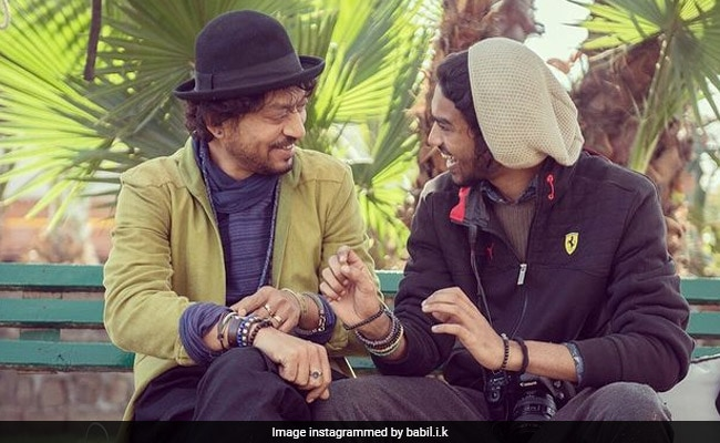 """Filmfare Awards 2021: Ayushmann Khurrana Meets Irrfan Khan's Son Babil """"For The First Time."""" Here's What He Wrote"""