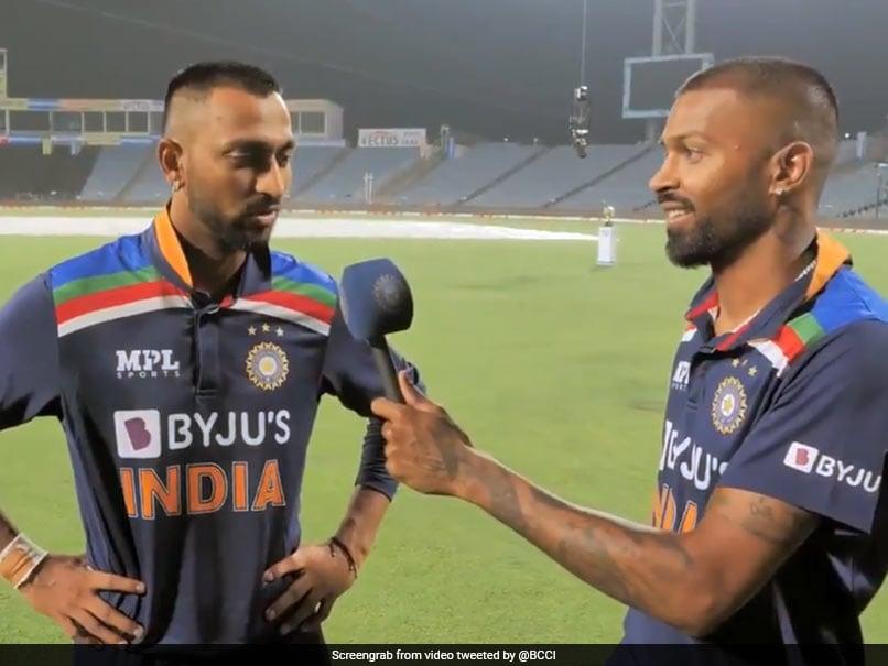 India vs England: Hardik Pandya Interviews Brother Krunal After Sensational Debut. Watch