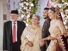 "Gauahar Khan Remembers Her Late Father By Sharing ""Favourite Memory"" From Her Wedding"