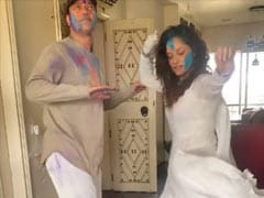 Holi 2021: Ankita Lokhande And Boyfriend Vicky Jain Brighten Up Instagram With This Dance Video