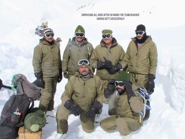 """Video : """"Sheer Grit"""": BRO Team Battles Avalanche, Cold, Snow To Open Crucial Pass"""