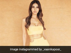 Vaani Kapoor Is Bringing Summer In Early With A Sizzling Yellow Cutout Dress
