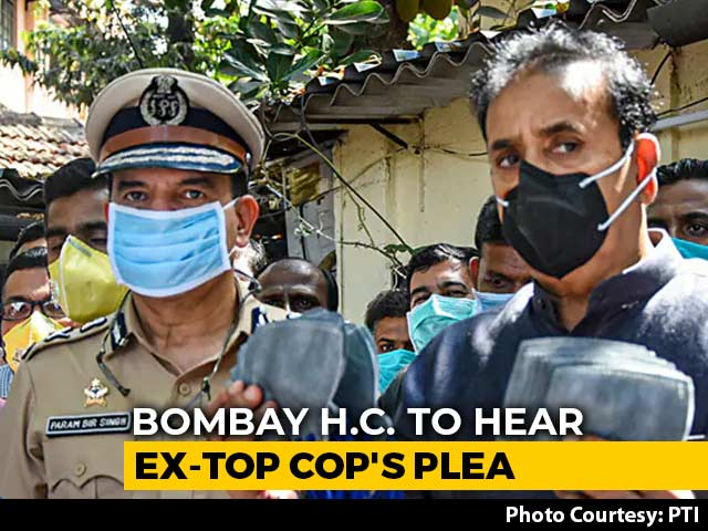 Video : High Court To Hear Former Top Cop's Plea Against Maharashtra Home Minister