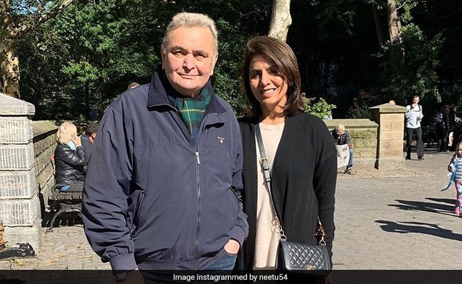 Neetu Kapoor Shares Memories From Her Last Trip To New York With Rishi Kapoor