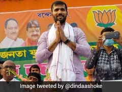 Former Cricketer Ashoke Dinda Is BJP's Candidate From Bengal's Moyna