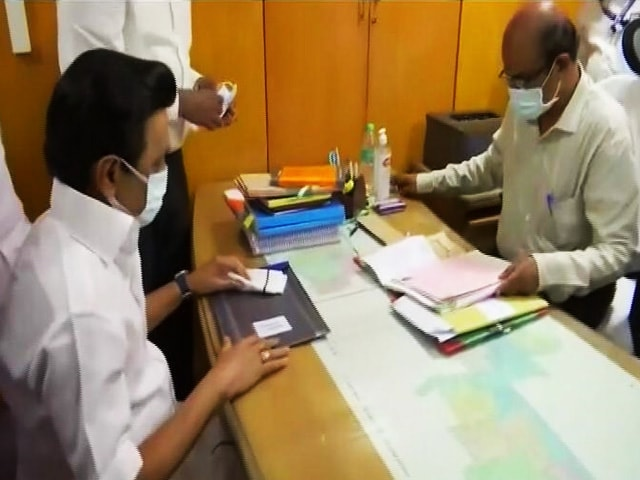 Video : DMK President MK Stalin Files Nomination From Kolathur