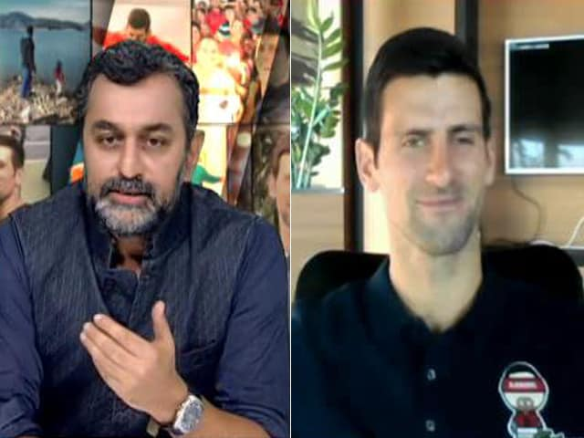 "Video : ""My Journey Wasn't Easy,"" World No. 1 Novak Djokovic Tells NDTV"