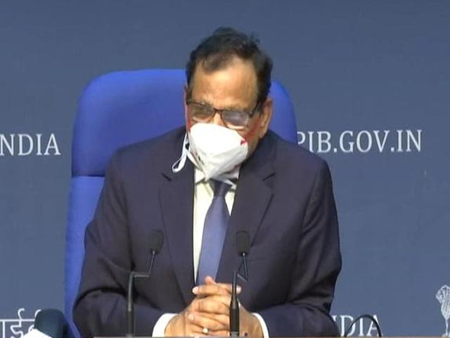 "Video : ""Very Worried About Maharashtra, Don't Take Virus For Granted"": Centre"
