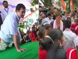 Video : Temple, Pushups, Dance: Gandhis In Campaign Mode