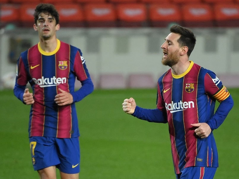 Lionel Messi Marks Record Game With A Brace As Barcelona Down Huesca