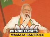 "Video : PM Slams Mamata Banerjee At Mega Rally, Says ""Didi Broke Bengal's Trust"""
