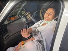 Cop Suspended By Election Body Over Mamata Banerjee's Injury At Nandigram