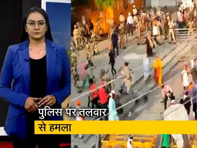 Videos : देश प्रदेश: नांदेड़ में मार्च रोकने पर बवाल, गुस्साई भीड़ का पुलिस पर हमला