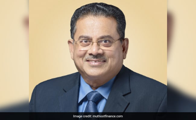 Muthoot Finance Shares Drop After Chairman Reportedly Fell To Death In Delhi