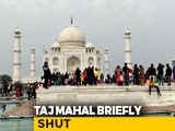 Video : Taj Mahal Briefly Shut, Tourists Evacuated After Bomb Hoax