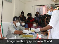 Ex-Kerala Chief Minister Oomen Chandy Files Nomination For Puthuppally Seat