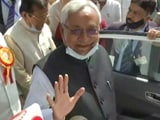 "Video : Nitish Kumar's Barb At Union Minister Over His ""Beat Up Officials"" Remark"