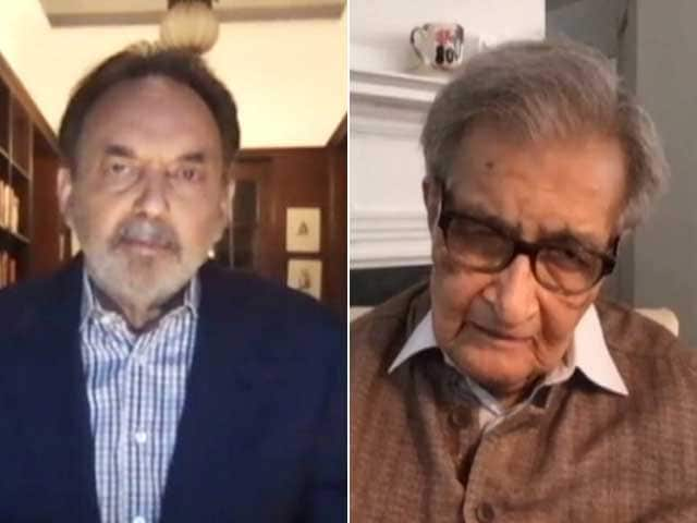 Video : Prannoy Roy's Townhall With Amartya Sen On Economy, Farm Laws