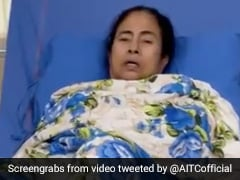 """""""Leg Crushed By Crowd"""": Mamata Banerjee Video Message After Attack Charge"""