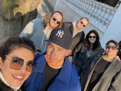 "Priyanka Chopra Is ""Happy To Be Reunited"" With Her Husband Nick Jonas And Family. See Pics"