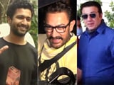 Video : Spotted: Aamir Khan, Vicky Kaushal, Sunny Deol's Busy Day