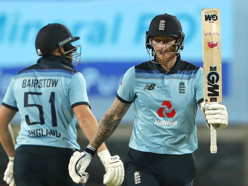 India vs England 2nd ODI: Ben Stokes Carnage, Jonny Bairstow Century Inspire England's Series-Levell.. - NDTV Sports