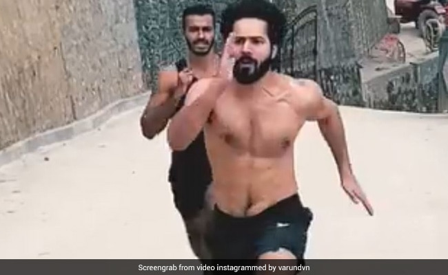 Can You Run As Fast As Varun Dhawan? The Song In His Post Might Inspire You