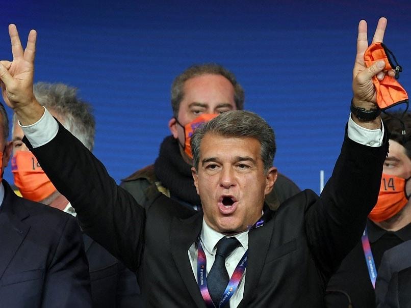 Barcelona Given Fresh Start As Joan Laporta Elected New Club President