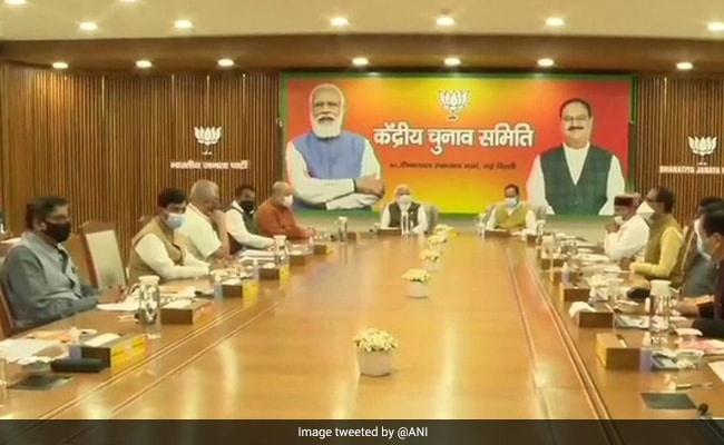 PM Modi Chairs BJP Election Committee Meeting Ahead Of Key Elections - NDTV