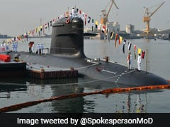 Indian Navy's Third Kalavari Class Submarine INS Karanj Commissioned
