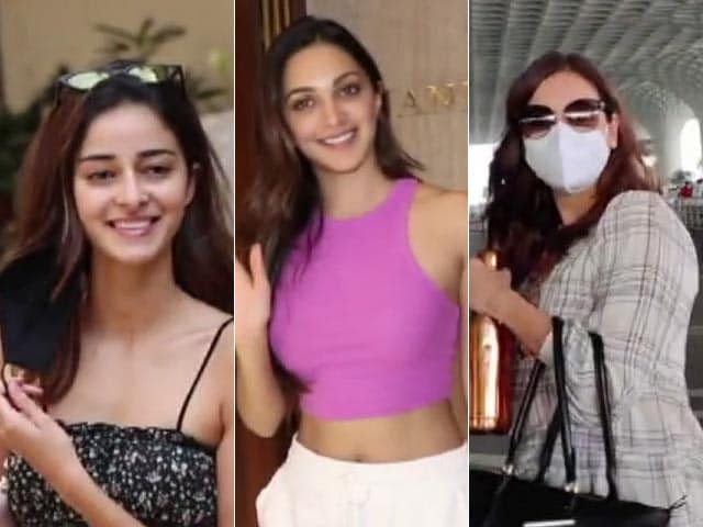Video : How Ananya Panday, Kiara Advani, Dia Mirza And Mouni Roy Spent Their Friday