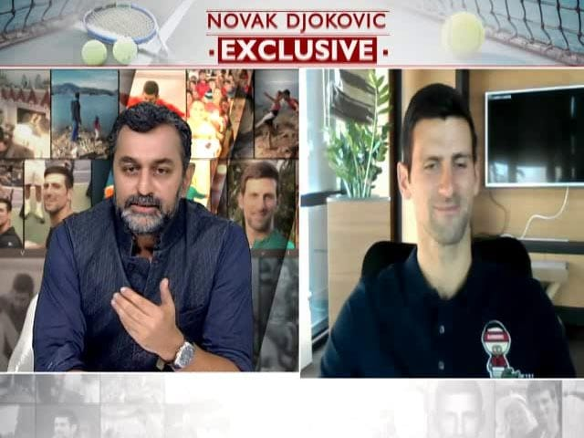 Video : Growing Up In War-Torn Serbia Made Me More Hungry For Tennis: Djokovic