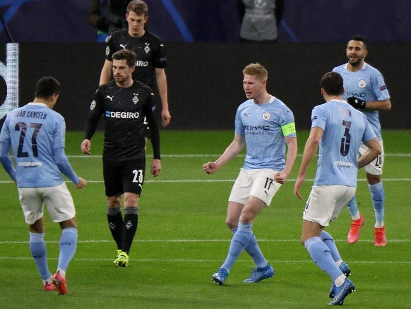 Manchester City Cruise Into Champions League Quarter-Finals