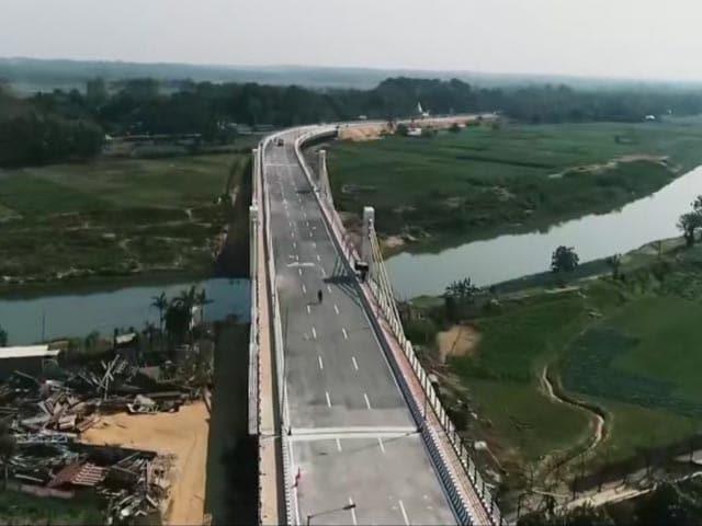 "Video : PM Modi Inaugurates ""Maitri Setu"" Between India, Bangladesh"